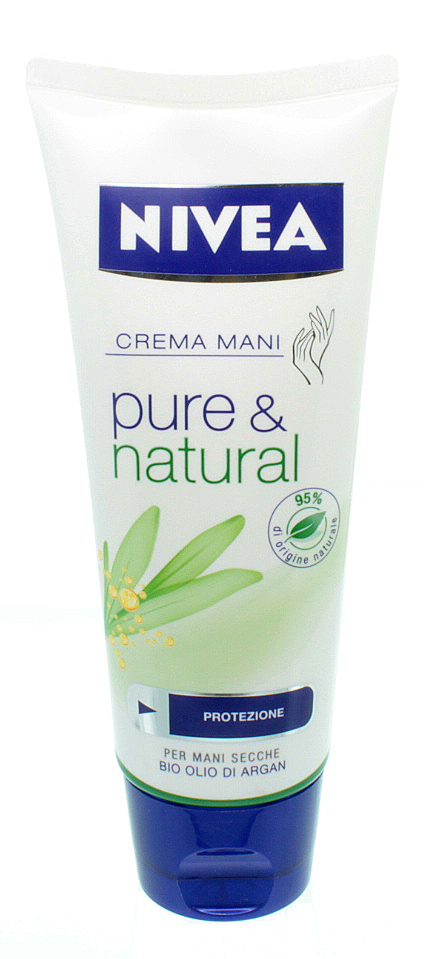 Nivea Crema Mani Pure & Natural