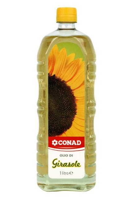 Olio di semi di girasole Conad