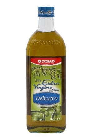 Olio extra vergine di oliva delicato Conad