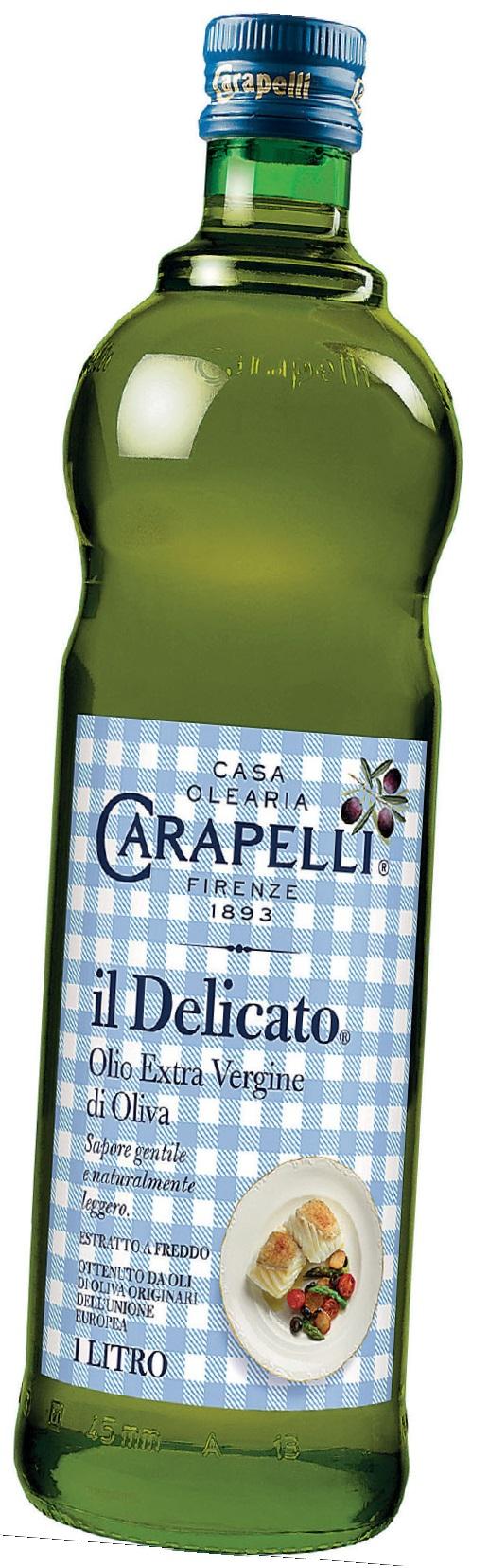 Olio extra vergine d'oliva il delicato Carapelli