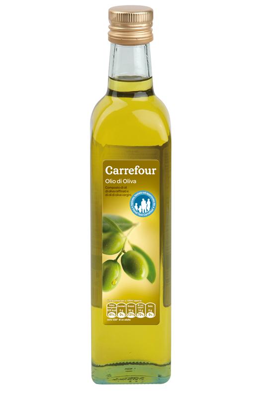 Olio extravergine d'oliva carrefour