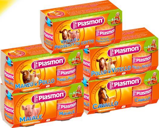 Omogeneizzati di carne Plasmon