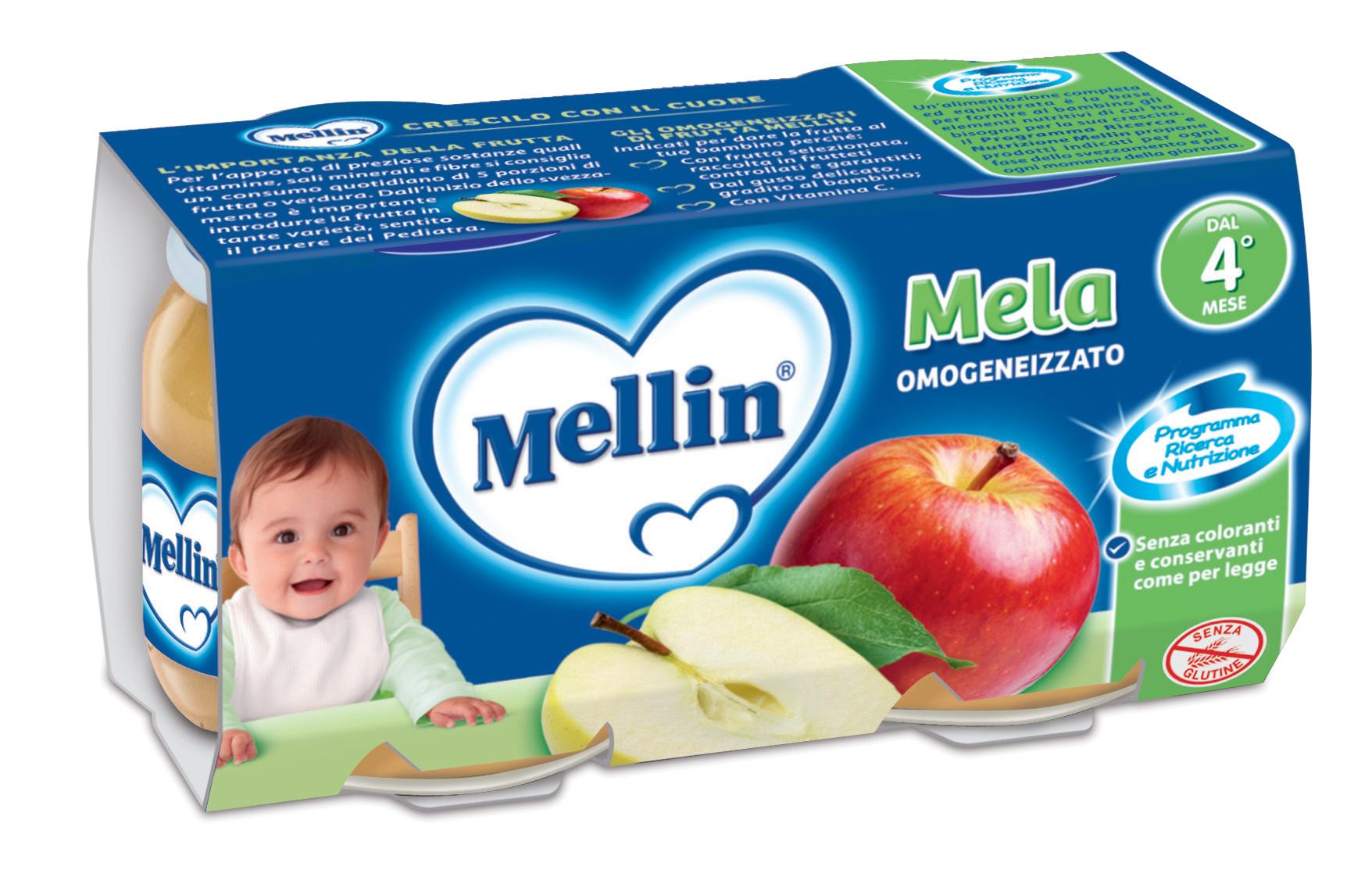 Omogeneizzato Mellin Mela