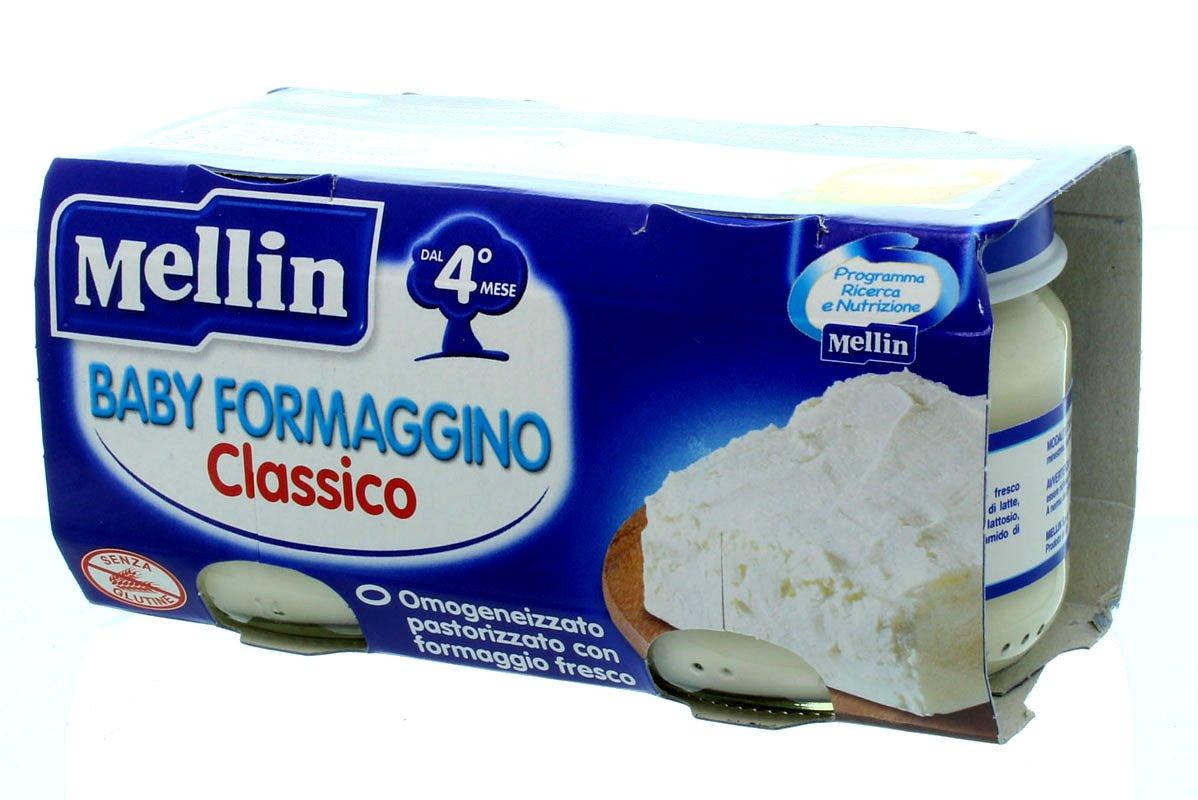 Omogeneizzato al formaggio Mellin