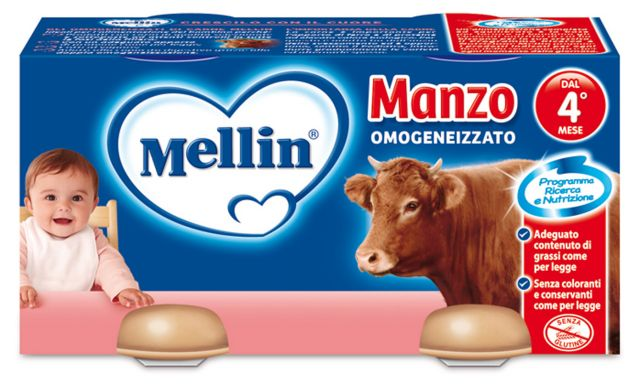 Omogenizzati Manzo Mellin