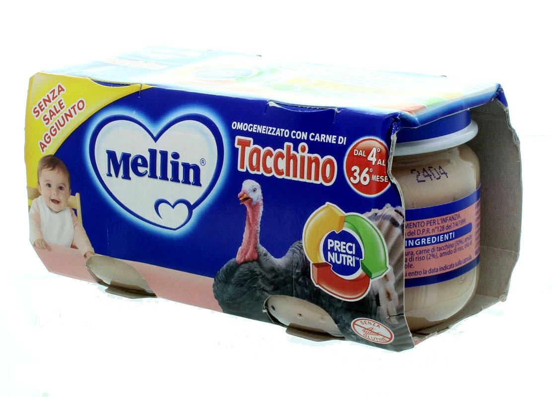 Omogenizzati di Tacchino Mellin
