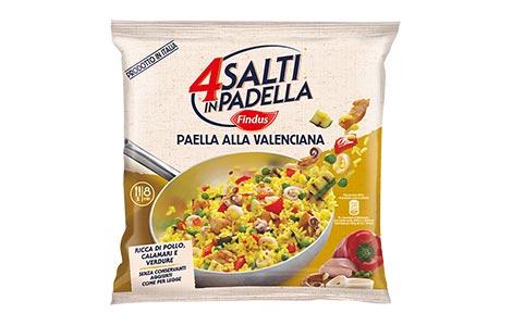 Paella alla valenciana 4 salti in padella findus findus for Cucinare 4 salti in padella