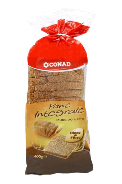 Pane integrale a fette Conad