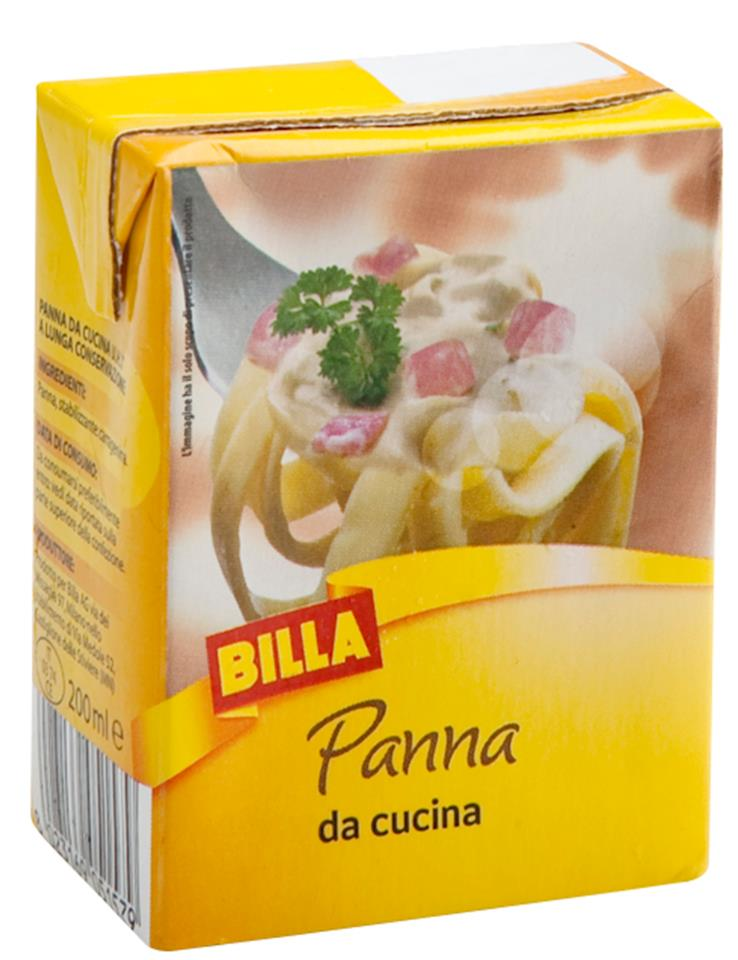 Panna da cucina billa billa offerte e promozioni - Panna da cucina ...