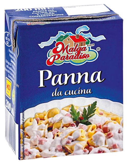 Panna da cucina malga paradiso malga paradiso offerte e promozioni - Come sostituire la panna da cucina ...