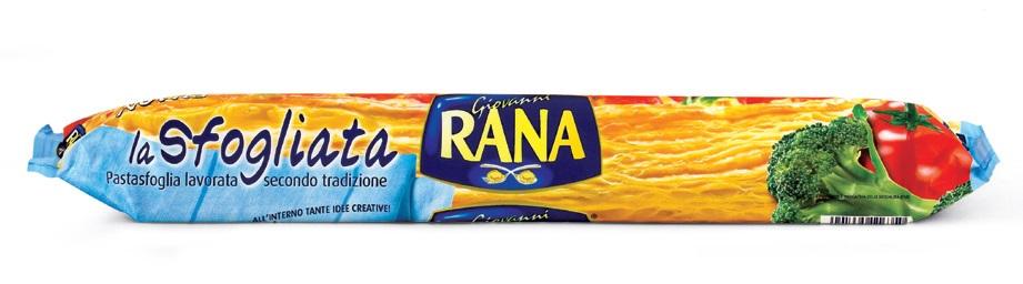 Pasta sfoglia La sfogliata Rana