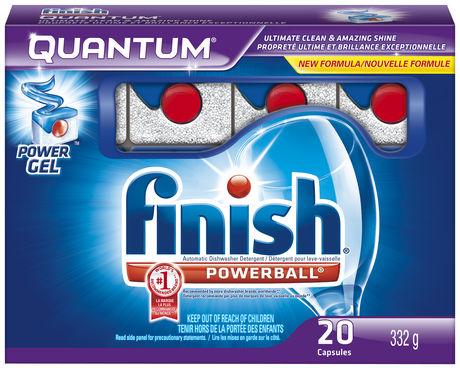 Pastiglie lavastoviglie Quantum Finish