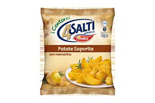 Patate saporite 4 salti in padella findus findus for Cucinare 4 salti in padella
