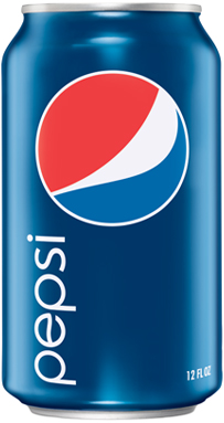 Pepsi in lattina