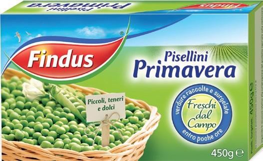 Pisellini Primavera Findus