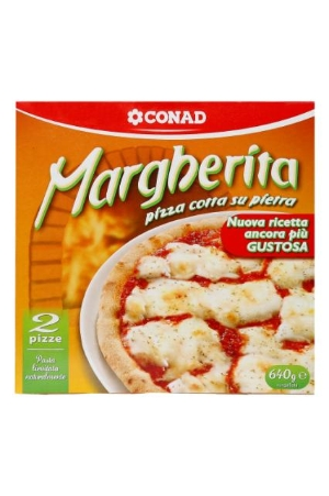 Pizza Margherita surgelata Conad