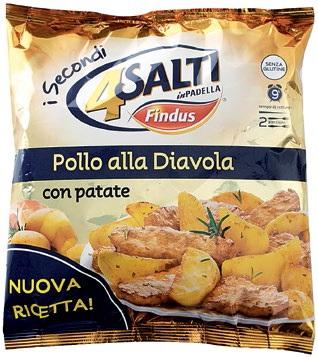Pollo alla diavola 4 salti in padella findus findus for Cucinare 4 salti in padella