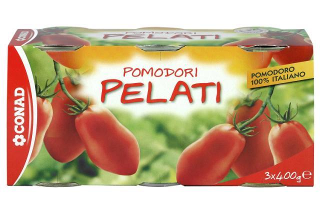Pomodori pelati Conad