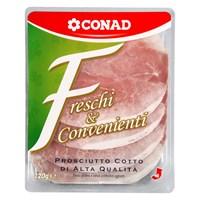 Prosciutto cotto a fette Freschi & Convenienti Conad