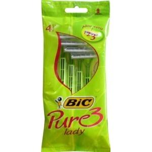 Rasoio usa e getta Pure 3 Lady Bic