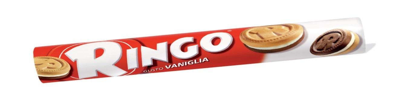 Ringo tubo vaniglia Pavesi