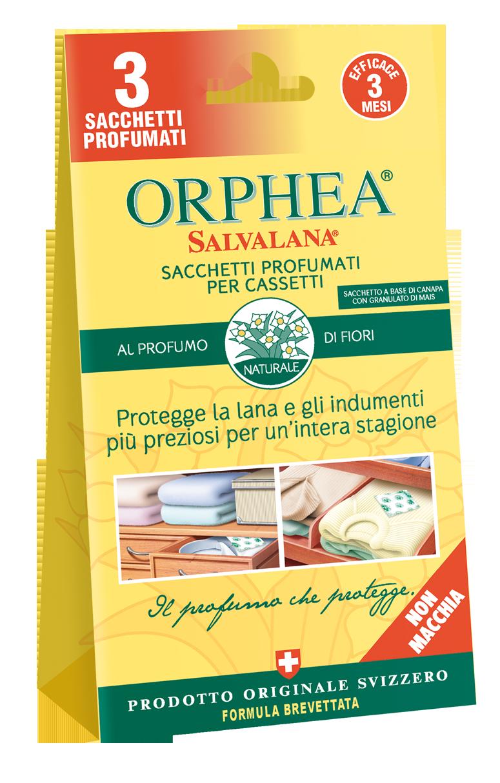 Sacchetti profumati salvalana per cassetti orphea orphea for I bagnoschiuma piu profumati