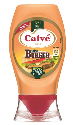 Salsa Burger Top down Calvè