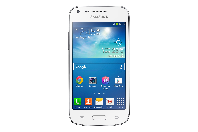 Samsung Galaxy Core Plus Smartphone, Bianco [Italia]