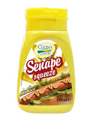 Senape squeeze Cucina e sapori