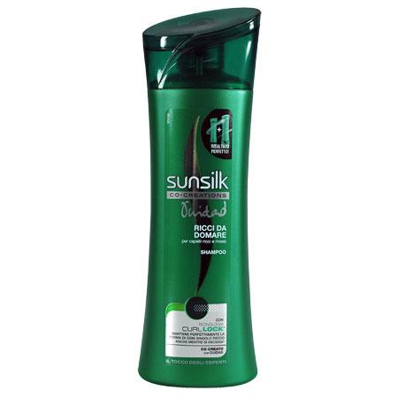 Shampoo per capelli ricci Sunsilk