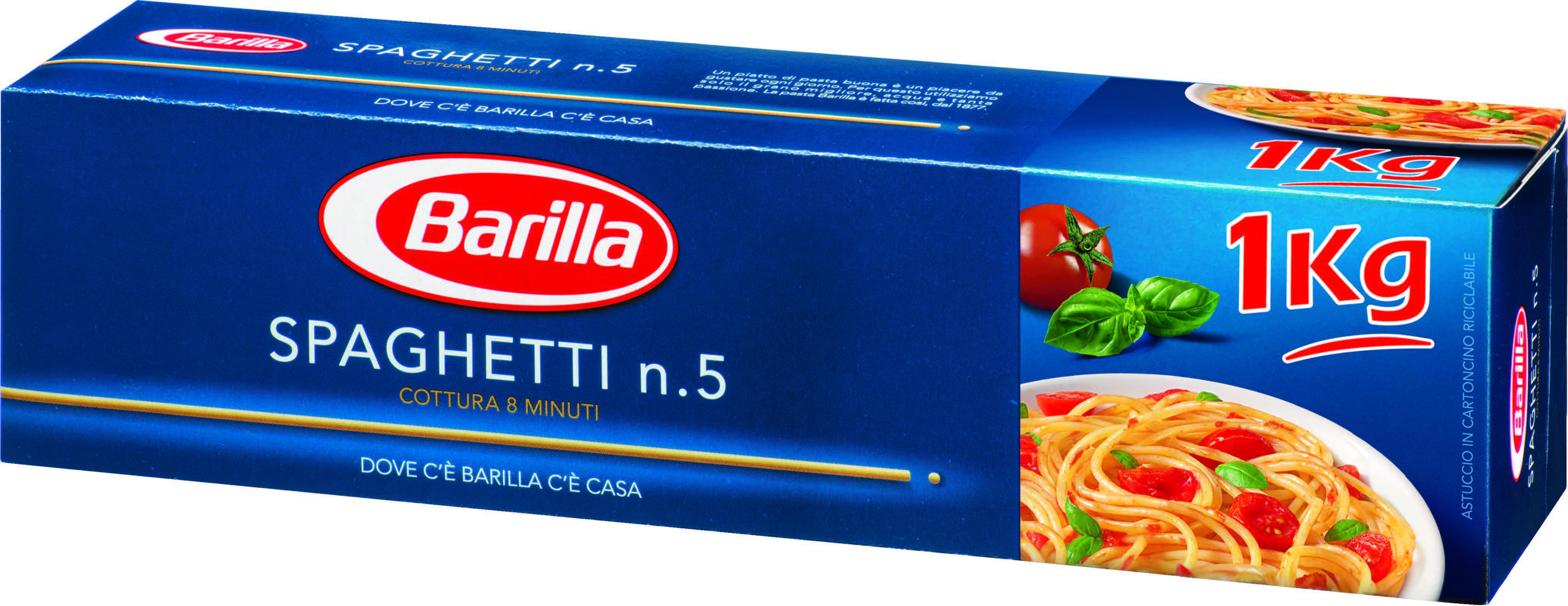 Spaghetti N°5 Barilla