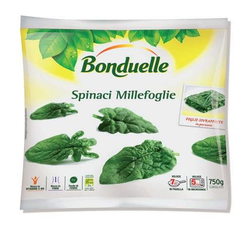 Spinaci millefoglie Bonduelle