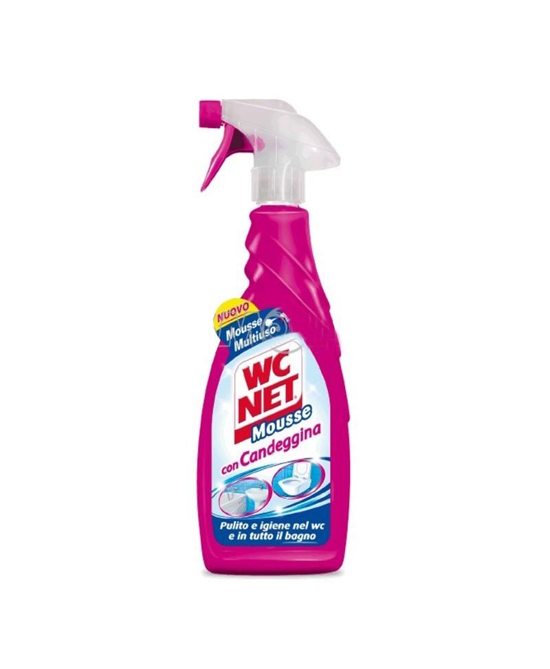 Spray mousse con candeggina wc net wc net offerte e for Wc net fosse biologiche prezzo