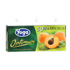 Succhi di Frutta Albicocca Yoga Optimum