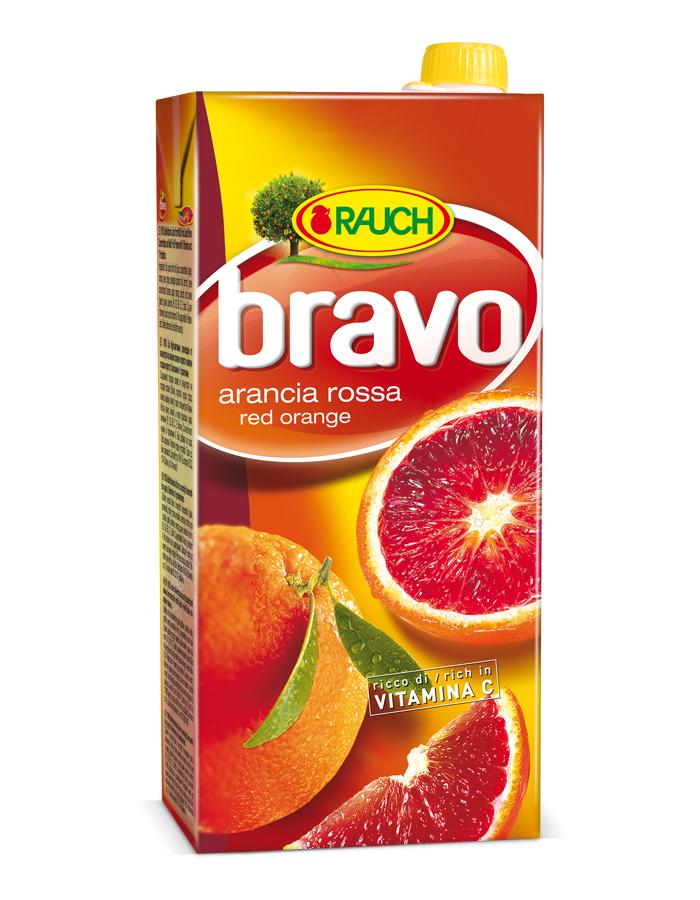 Succo di arancia rossa Bravo Rauch