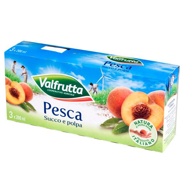 Succo di frutta in brick Valfrutta