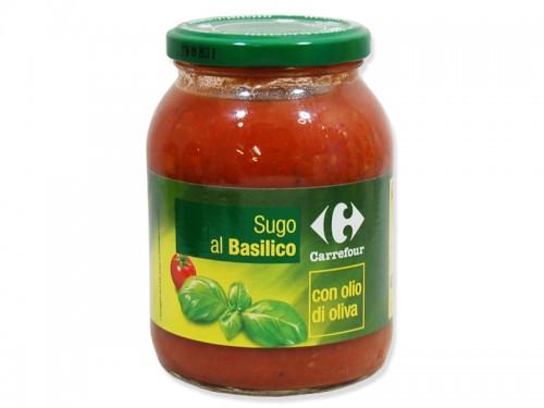 Sugo pomodoro e basilico gr 400 CRF