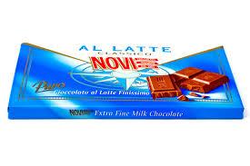 Tavoletta di cioccolato al latte Novi