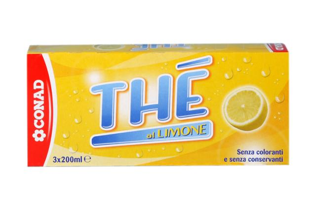 Thè freddo al limone in brick Conad