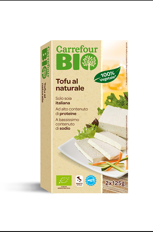 Tofu al naturale BIO Carrefour