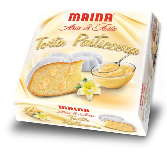 Torta Aria di Festa Crema Pasticcera Maina