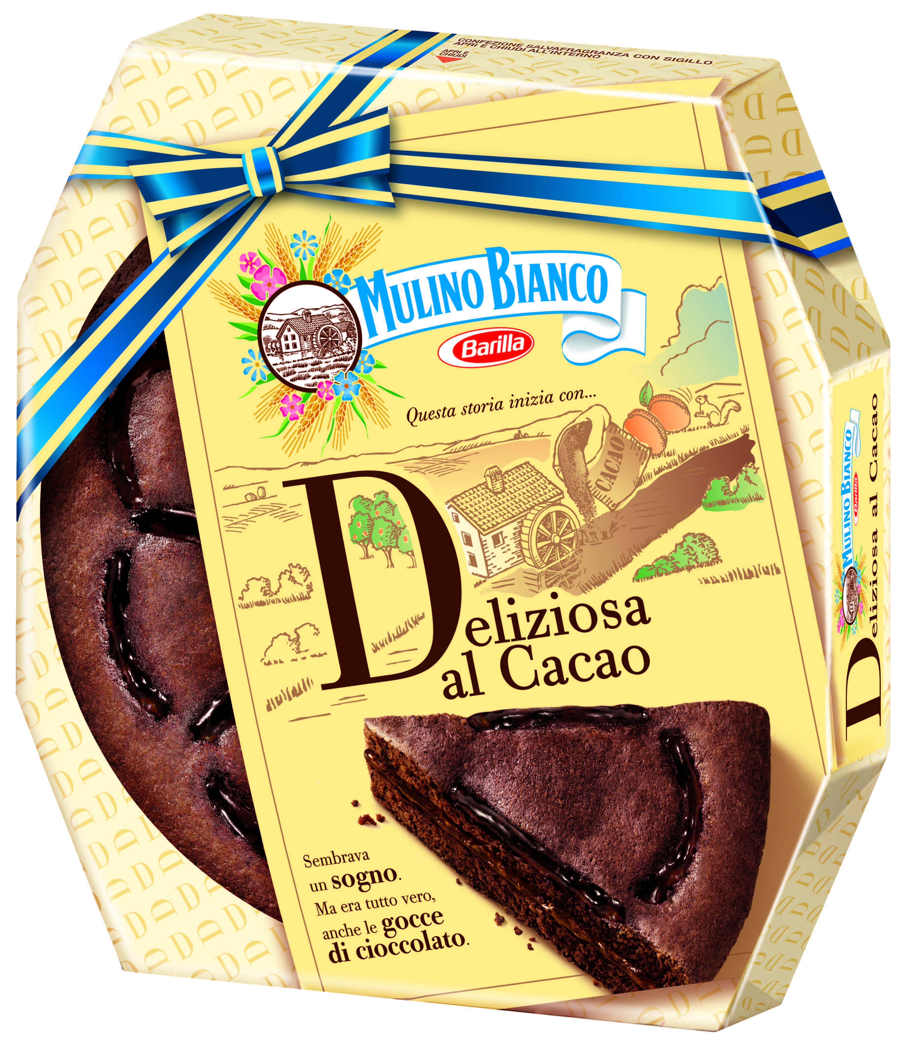 Torta Deliziosa al cacao Mulino Bianco