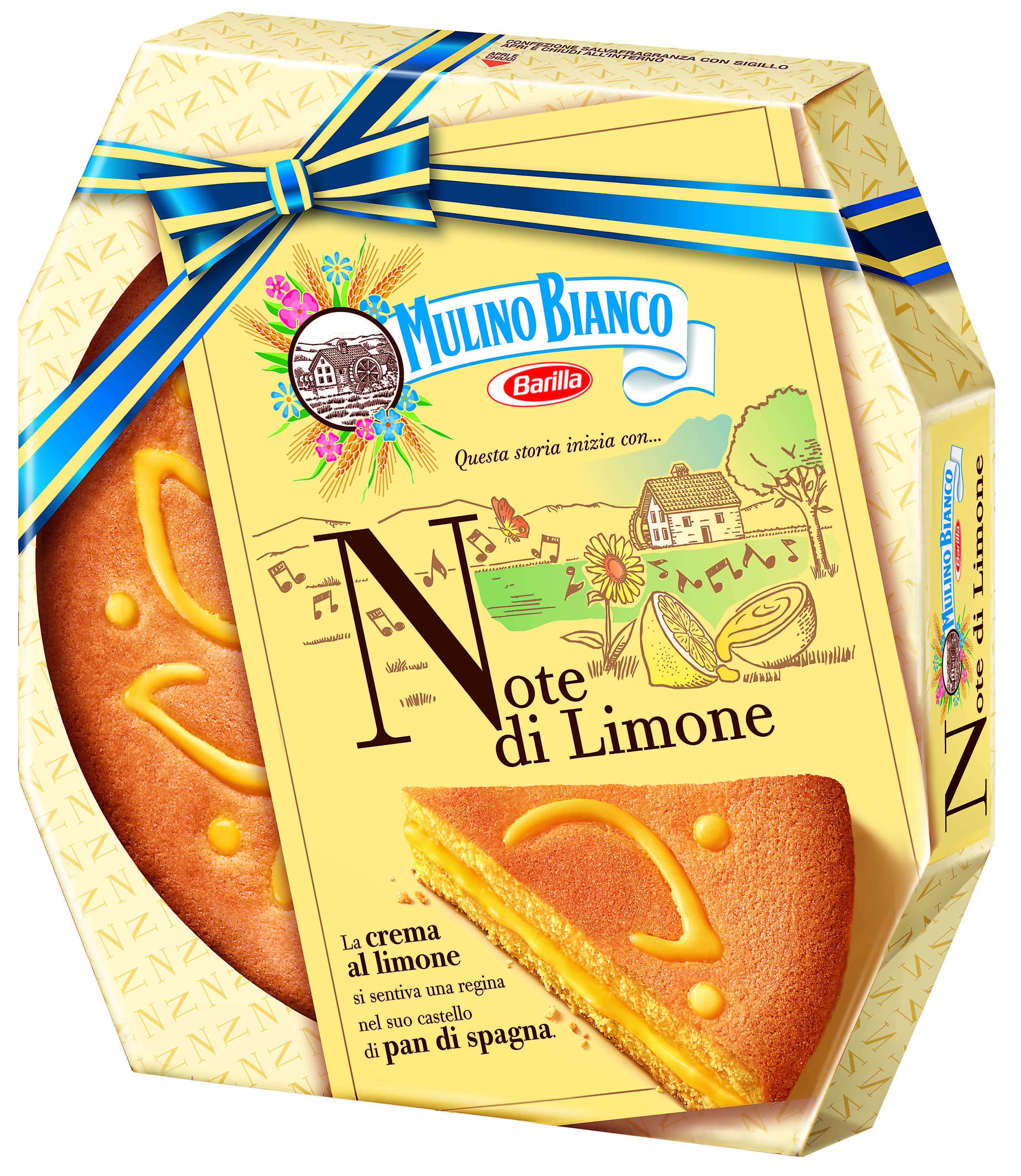 Torta Note di limone Mulino Bianco