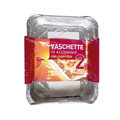 Vaschette alluminio auchan auchan offerte e promozioni for Vaschette per tartarughe prezzi
