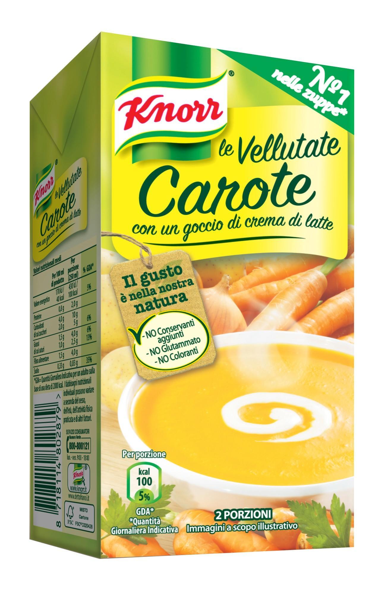 Vellutata Carote Knorr
