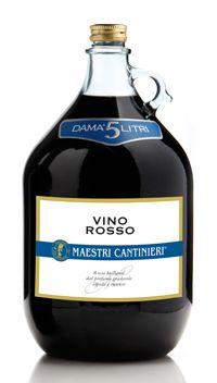Vino rosso Maestri Cantinieri dama
