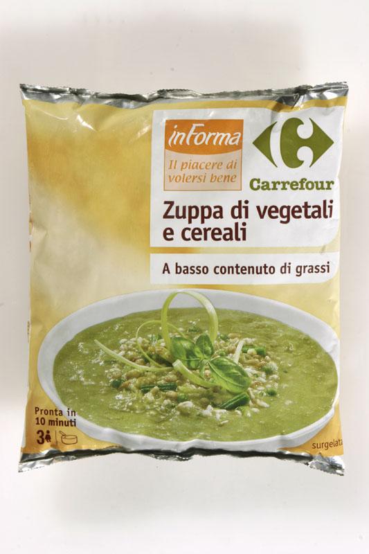 Zuppa Vegetale/Cereali Carrefour