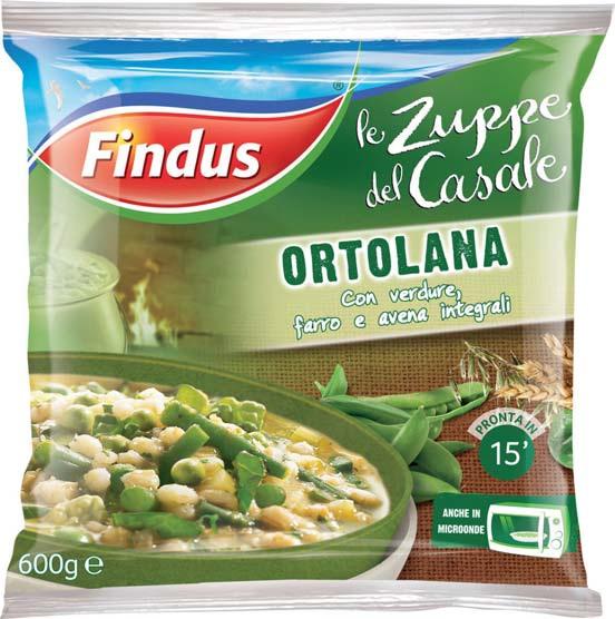 Zuppa del casale Ortolana Findus