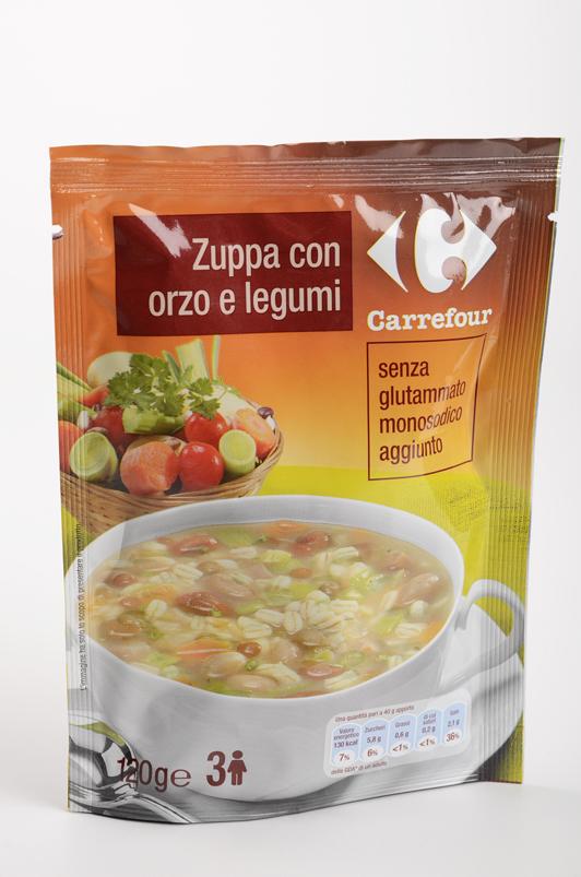 Zuppa orzo e legumi Carrefour